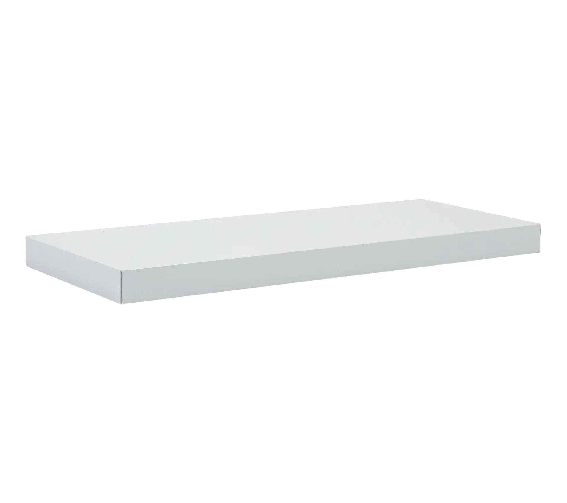 etagere 60cm shelvy blanc