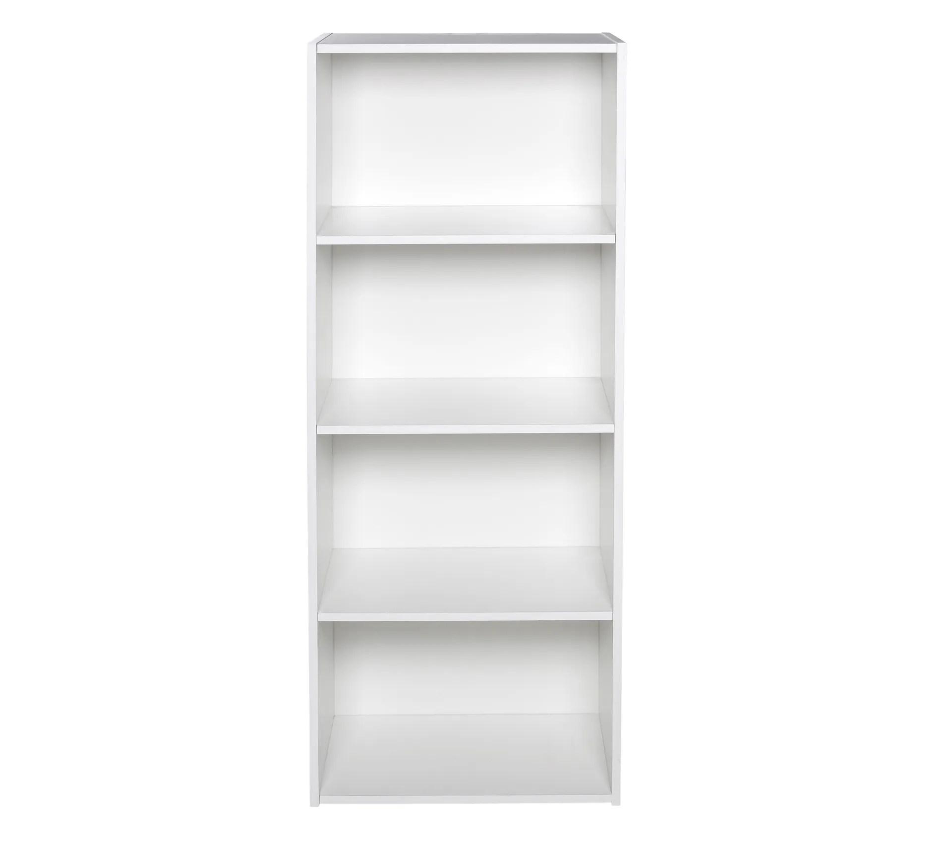 etagere 4 cases poyang 2 blanc