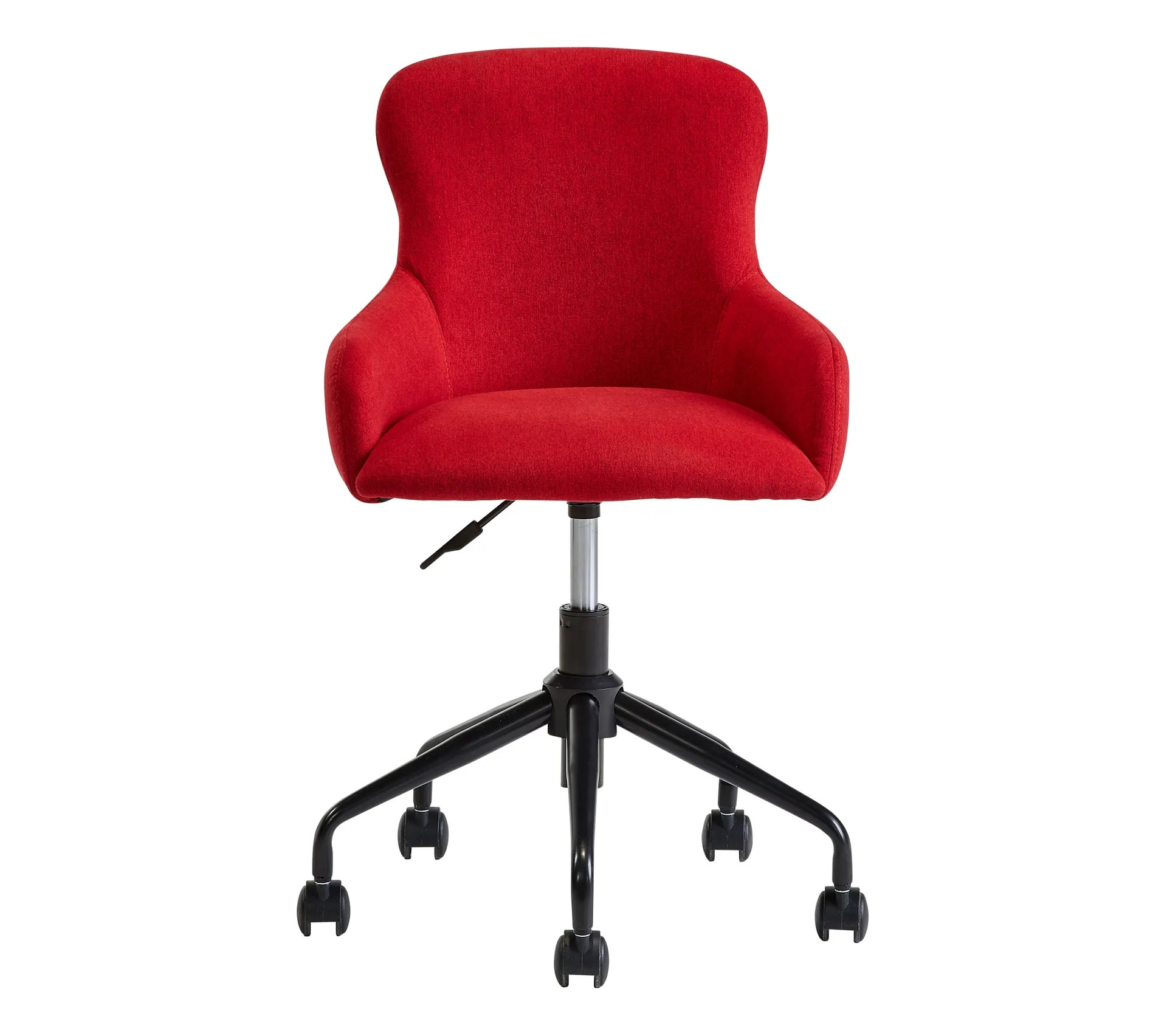 chaise dactylo cherry rouge