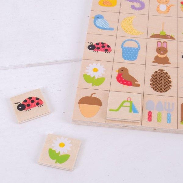 Barnspel Trädgårds Bingo