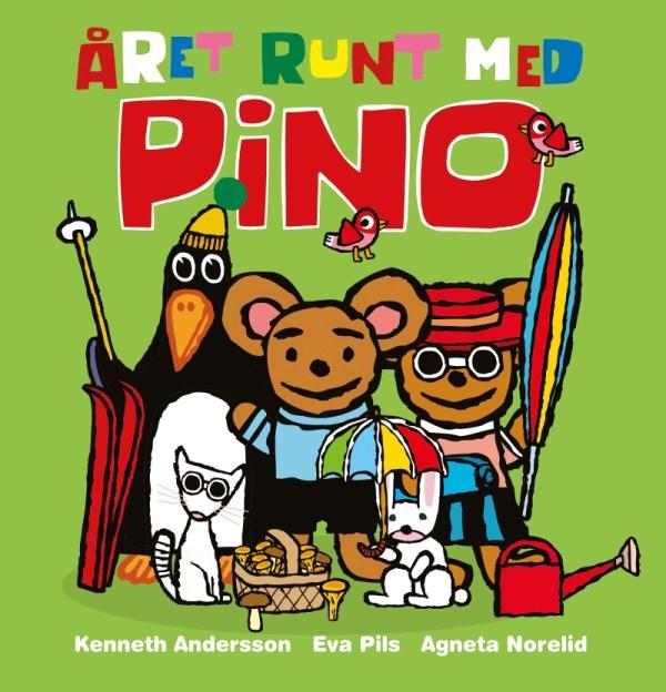 Året runt med Pino - barnbok 0-4 år