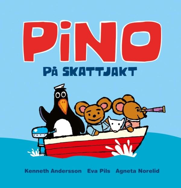 Barnbok Pino på skattjakt