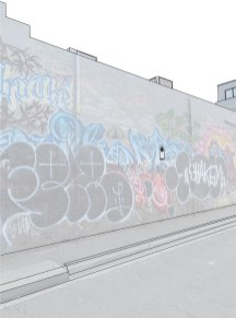 The temporal nature of signage and graffiti found on Footscray's walls