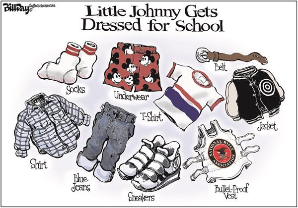 130155 600 School Clothes cartoons