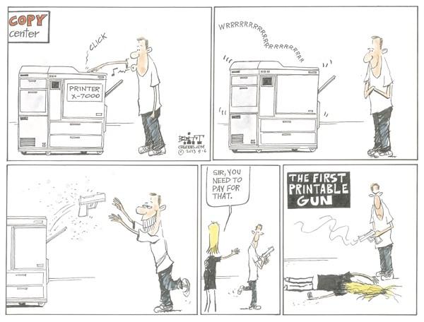 131499 600 Printable Gun cartoons