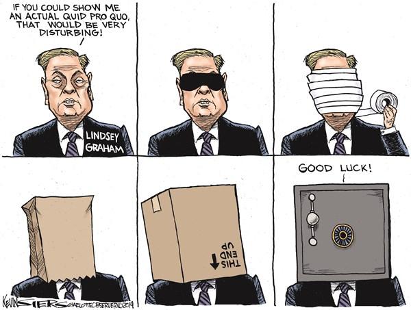 Editorial Cartoon: Lindsey Graham