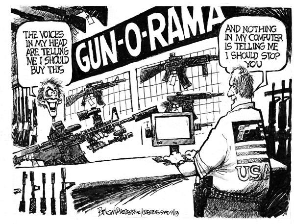 137894 600 Gun O Rama cartoons