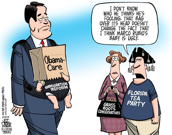 136355 600 LOCAL FL Marco Rubio Immigration Reform Shame cartoons