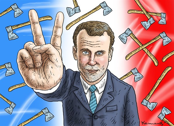 Marian Kamensky - Austria - Macron is the Winner - English - macron,winner,election,france,french-election-2017
