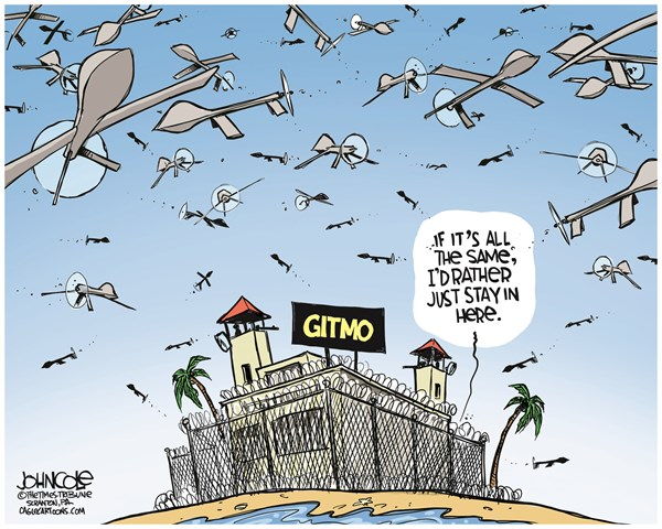 131558 600 Gitmo and drones cartoons