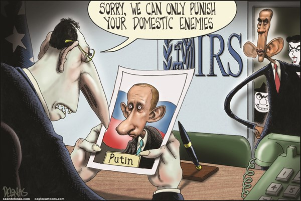 133786 600 Obama vs Putin cartoons