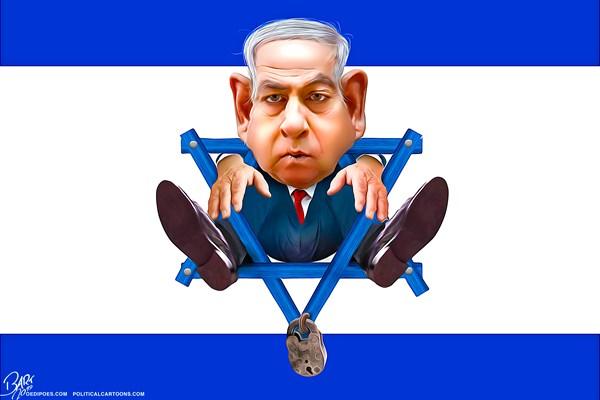 Editorial Cartoon: Deadlock Netanyahu