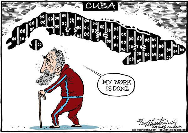 Image result for fidel castro cartoons