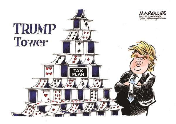 Image result for  cartoons fair tax and trump