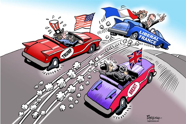 Paresh Nath - The Khaleej Times, UAE - France moves ahead - English - France, Liberal France, USA, Trump, UK, Brexit, populism, nationalism, stalled progress, France moves