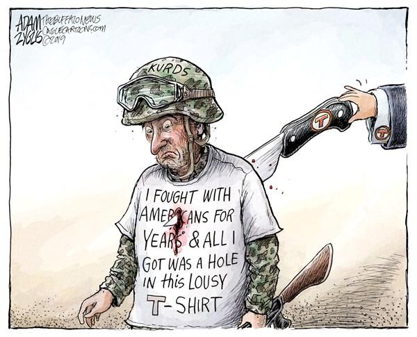 Editorial Cartoon: The Kurds