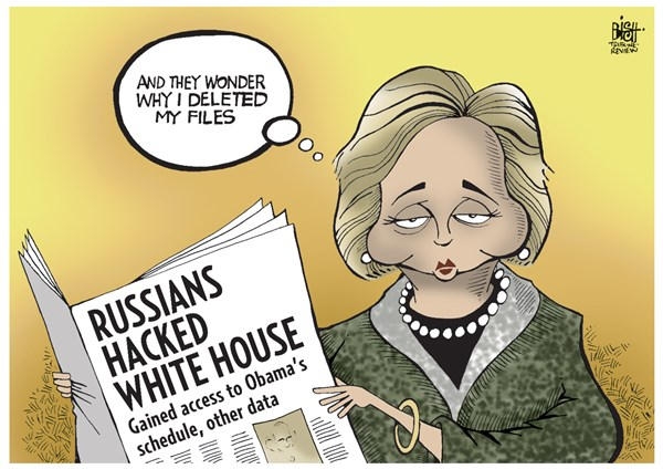 Image result for cartoons russian hacking