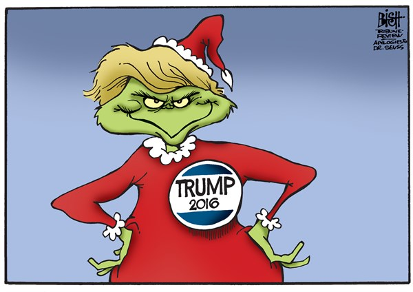 Image result for trump grinch