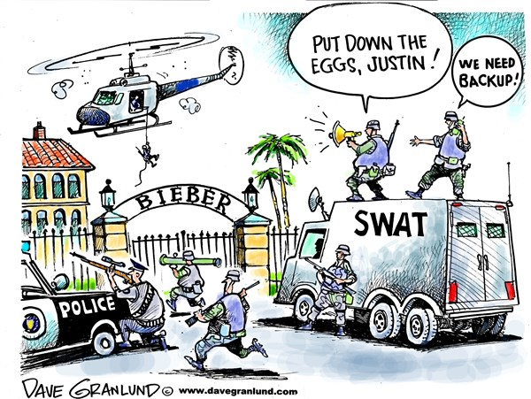 143077 600 Justin Bieber egg raid cartoons