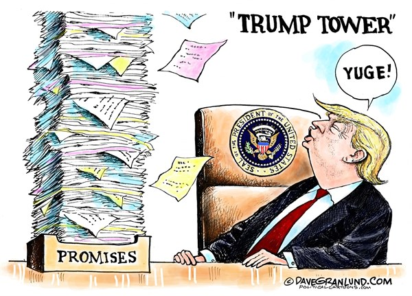 Image result for cartoons trump obamacare repeal failure