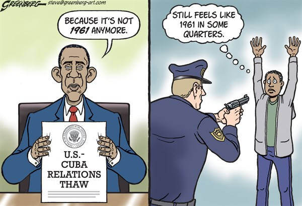 157743 600 Cuba and 1961 cartoons
