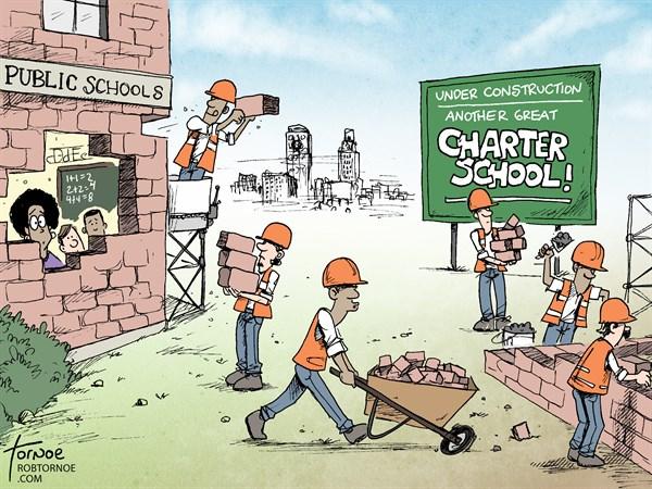 146854 600 Charter Schools cartoons