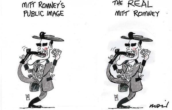 Romneys Image © Moir,The Morning Herald, Sydney Australia,romney,public,image,video,taxpayers,romney-video-leak