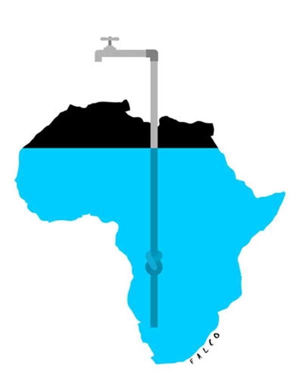Water in Africa © Alex Falco,water,Africa