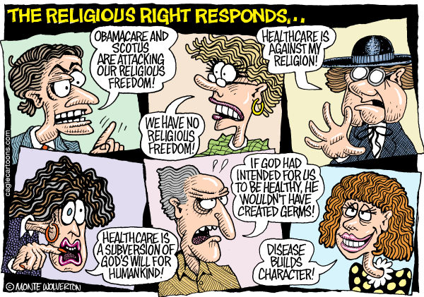 Image result for religious right cartoons