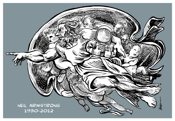 Neil Armstrong © Manny Francisco,Manila, The Phillippines,Neil Armstrong,Nasa,astronaut,neil armstrong dead