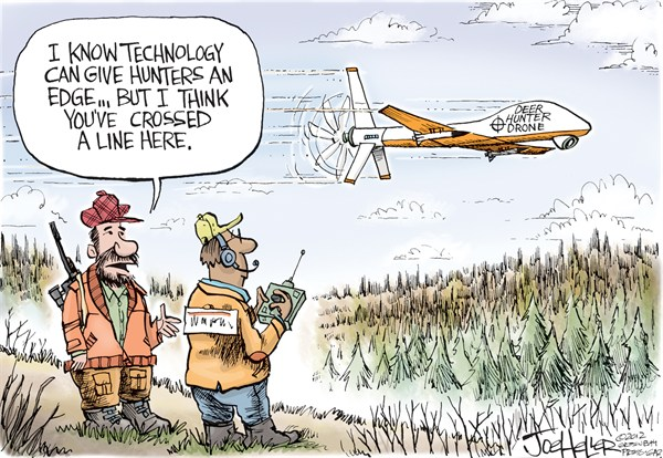 Deer Hunt 2012 © Joe Heller,Green Bay Press-Gazette,Deer Hunt 2012,Wisconsin,drone,technology,hunting,DNR,outdoors,sportsman
