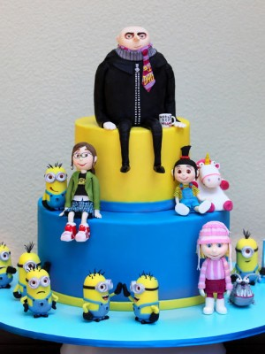 Top Despicable Me Cakes Cakecentral Com