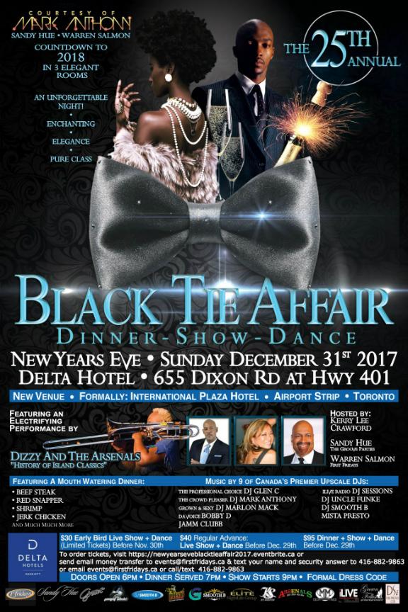New Years Eve - Black Tie Affair