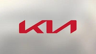 Kia New Logo At Geneva Auto Show