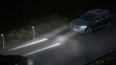 volkswagen demos next gen lighting