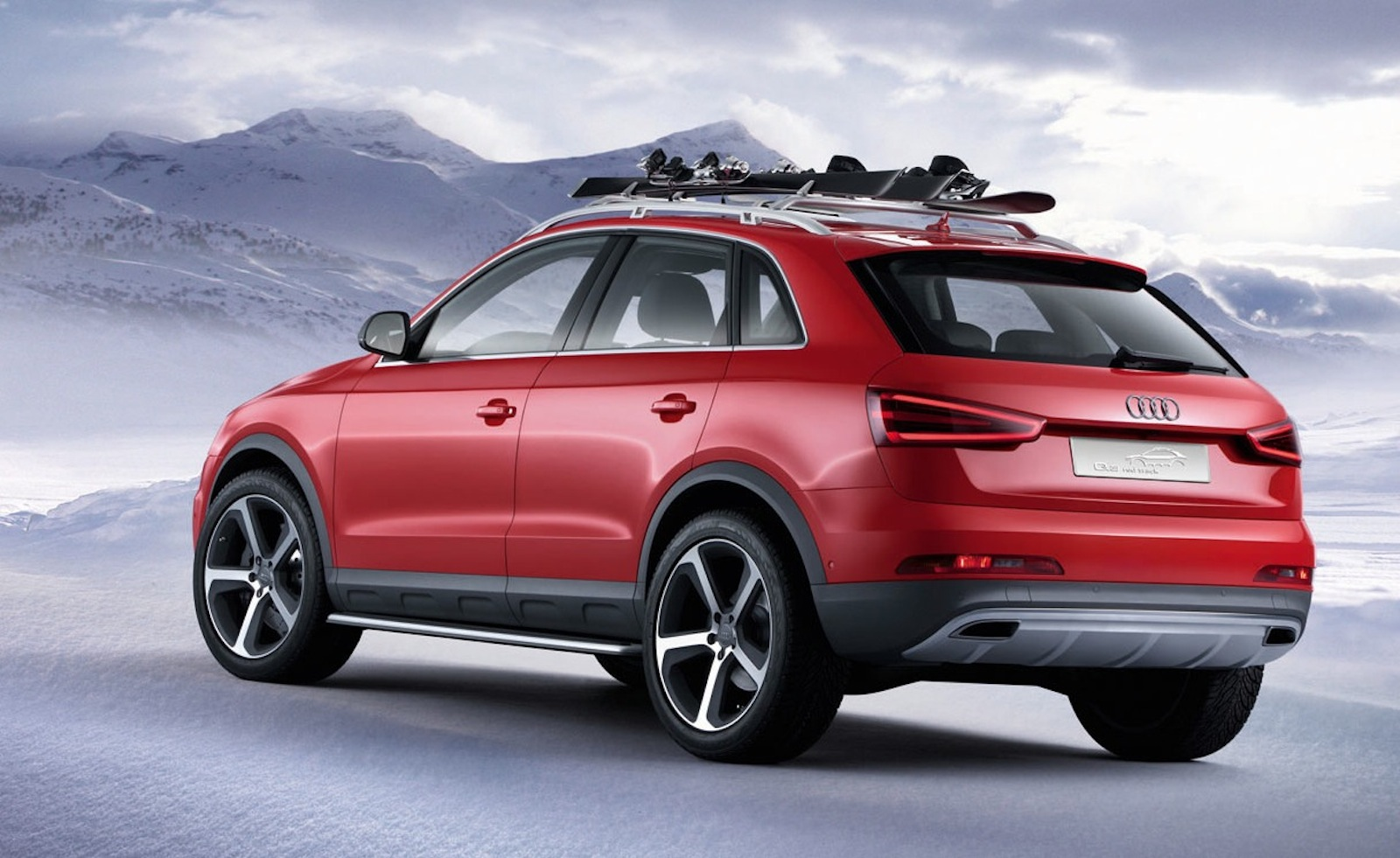 audi q3 red track concept ready for the slopes caradvice
