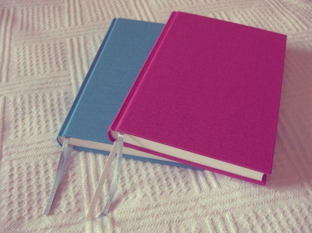 två anteckningsböcker för att strukturera bloggandet bättre