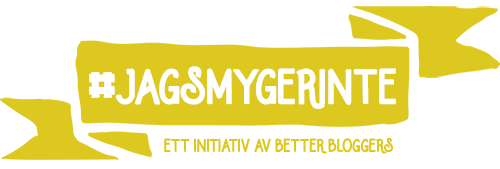 #jagsmygerinte - ett initiativ av Better Bloggers