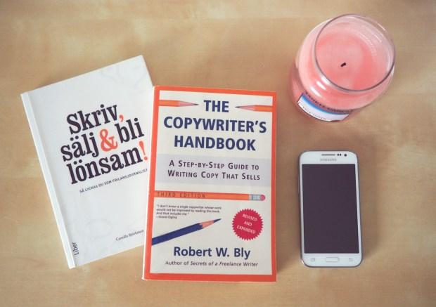 Skriv, sälj och bli lönsam - Camilla Björkman och The copywriter's handbook - Robert W Bly boktips skrivande