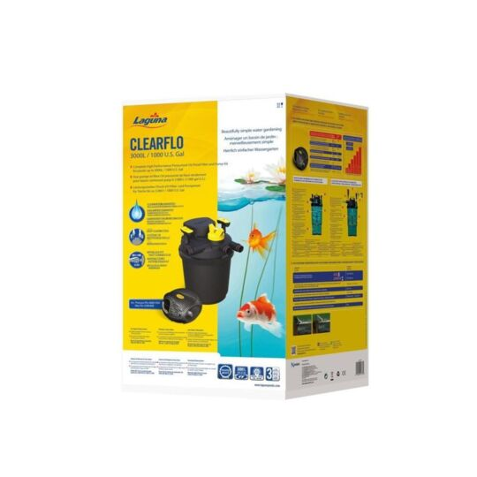 laguna kit de filtration clearflo 3000
