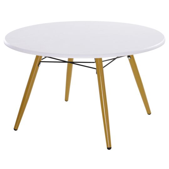 table basse ronde design scandinave
