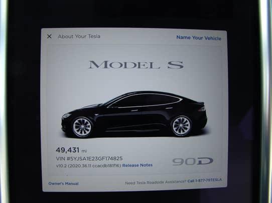 2016 Tesla Model S 90d Auction Cars Bids