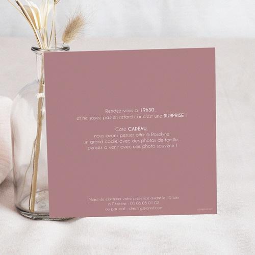 carte invitation anniversaire adulte 90 ans ardoise