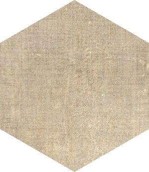 marca corona textile sand esagono 25x21 6 cm d569
