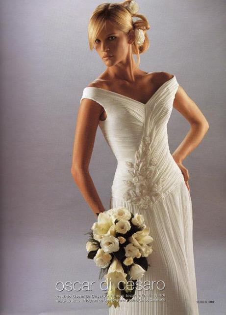 vestidos de novia de oscar di cesaro