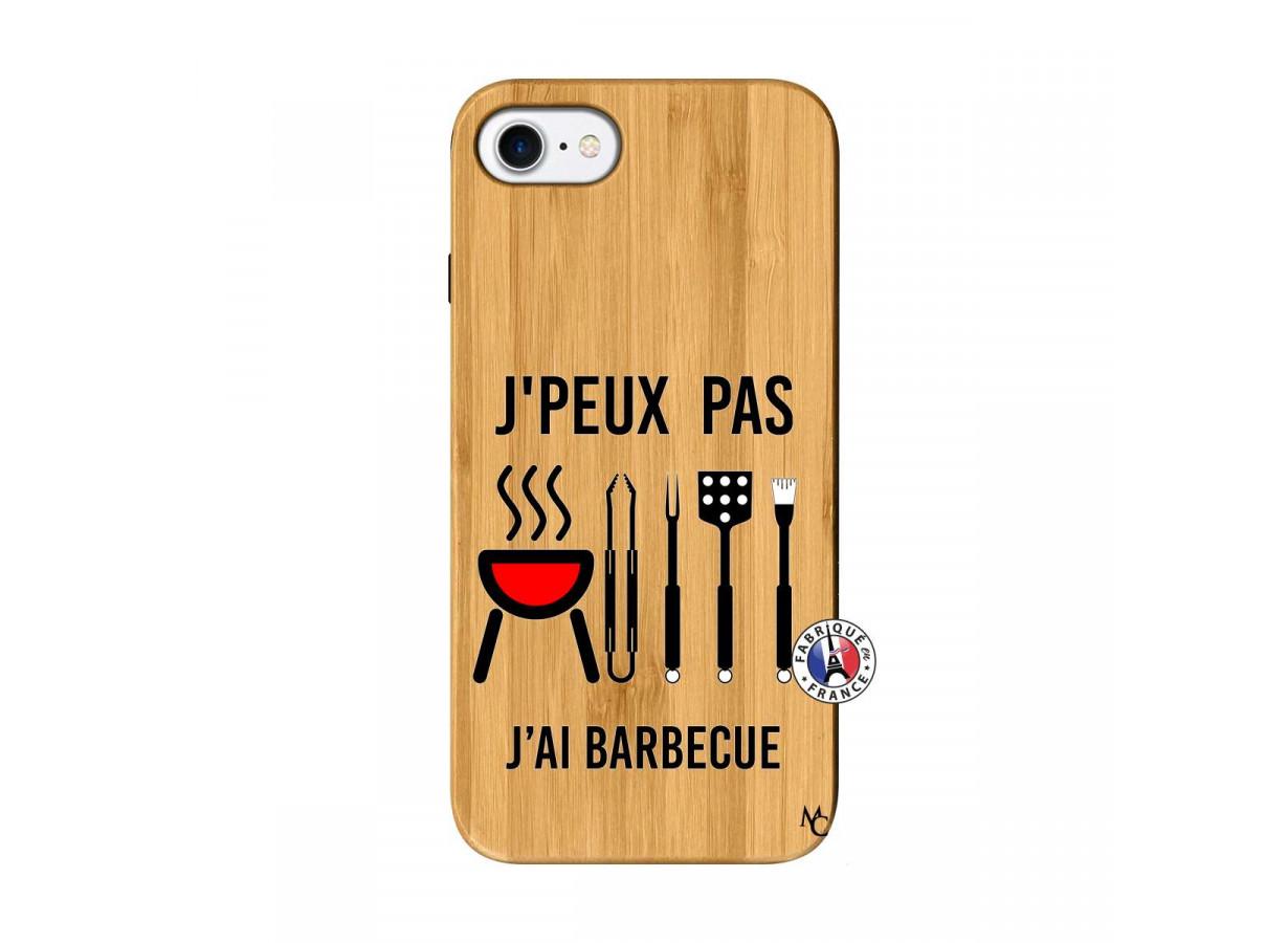 coque bois iphone 7 8 je peux pas j ai barbecue master case