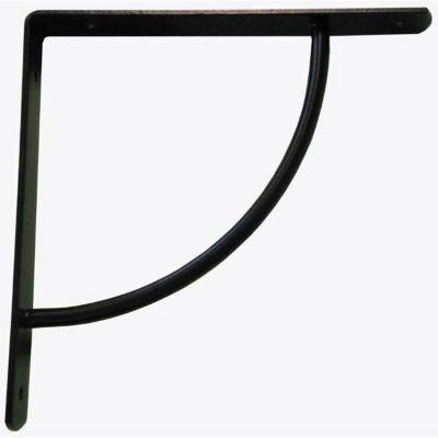 equerre metal noir form lima 18 cm