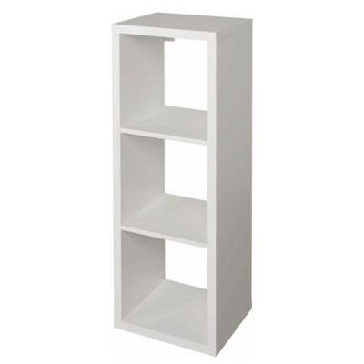 etagere modulable 3 cubes coloris blanc mixxit