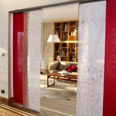 panneau japonais colours devore enduit galet 45 x 260 cm castorama