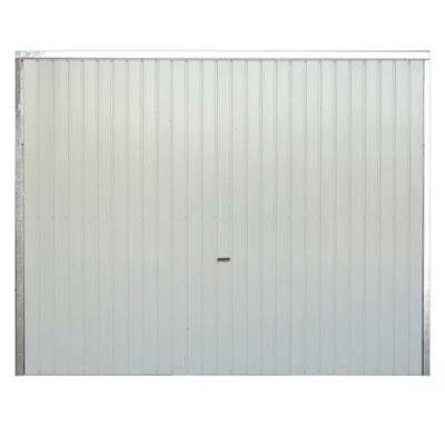 Porte De Garage Enroulable Alu Blanche 240 X H 200 Cm Castorama